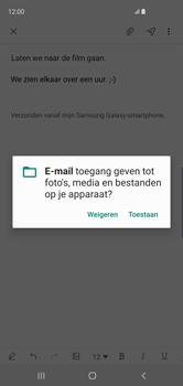 Samsung galaxy-s10-dual-sim-sm-g973f - E-mail - Bericht met attachment versturen - Stap 14