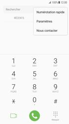 Samsung Galaxy S7 - Android Nougat - Messagerie vocale - configuration manuelle - Étape 6