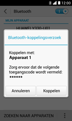 Huawei Ascend Y330 - Bluetooth - Headset, carkit verbinding - Stap 7