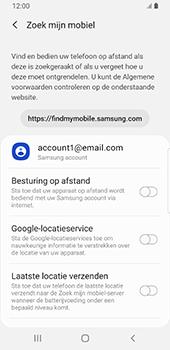 Samsung Galaxy S9 Android Pie - Toestel - stel Zoek mijn mobiel in - Stap 6
