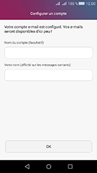 Huawei Y6 II Compact - E-mail - Configuration manuelle - Étape 19