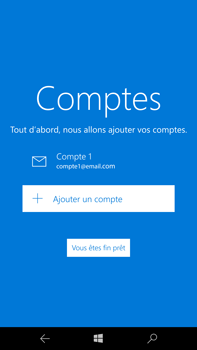 Microsoft Lumia 950 XL - E-mail - Configurer l