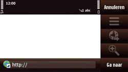 Nokia N97 Mini - Internet - internetten - Stap 4