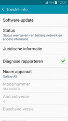 Samsung A500FU Galaxy A5 - Software update - update installeren zonder PC - Stap 5