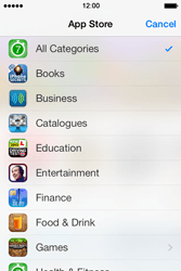 Apple iPhone 4 S iOS 7 - Applications - Download apps - Step 7