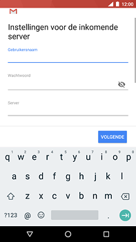 Nokia 6 (2018) - E-mail - e-mail instellen: POP3 - Stap 13