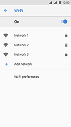 Nokia 3 (DualSim) - Android Oreo - Wi-Fi - Connect to a Wi-Fi network - Step 7