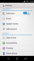 Sony D2203 Xperia E3 - Network - Installing software updates - Step 5