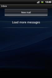Sony Ericsson Xperia Mini Pro - Email - Sending an email message - Step 11