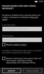 Nokia Lumia 625 - Email - Adicionar conta de email -  8