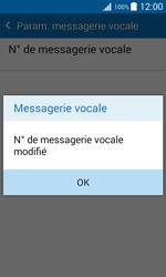 Samsung J100H Galaxy J1 - Messagerie vocale - Configuration manuelle - Étape 10