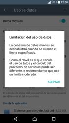 Sony Xperia E5 (F3313) - Internet - Ver uso de datos - Paso 9