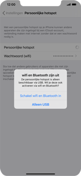 Apple iphone-11-model-a2221 - WiFi - Mobiele hotspot instellen - Stap 7