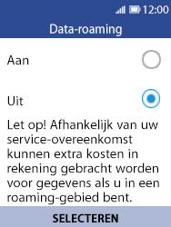 Nokia 8110 - Buitenland - Internet in het buitenland - Stap 7