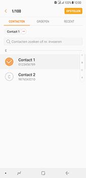 Samsung Galaxy A8 Plus - MMS - hoe te versturen - Stap 6
