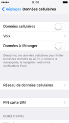 Apple iPhone 5s iOS 9 - Internet - activer ou désactiver - Étape 5