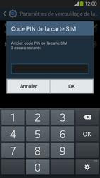 Samsung Galaxy Grand 2 4G - Sécuriser votre mobile - Personnaliser le code PIN de votre carte SIM - Étape 8