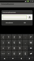 HTC S720e One X - Voicemail - handmatig instellen - Stap 7