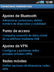 Samsung S5570 Galaxy Mini - Internet - Configurar Internet - Paso 5