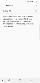 Samsung Galaxy S9 - Bluetooth - connexion Bluetooth - Étape 8