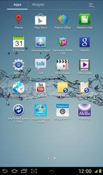 Samsung P3100 Galaxy Tab 2 7-0 - Network - Usage across the border - Step 3