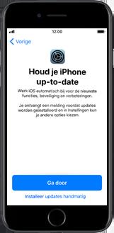 Apple iPhone 6s met iOS 11 (Model A1688) - Instellingen aanpassen - Activeer het toestel en herstel jouw iCloud-data - Stap 29