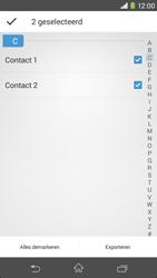 Sony Xperia M2 4G (D2303) - Contacten en data - Contacten kopiëren van toestel naar SIM - Stap 8