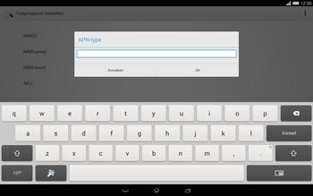 Sony Xperia Tablet Z2 (SGP521) - MMS - handmatig instellen - Stap 13