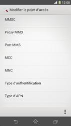Sony C6903 Xperia Z1 - MMS - Configuration manuelle - Étape 15