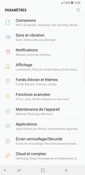Samsung Galaxy Note 8 - Réseau - Sélection manuelle du réseau - Étape 4