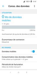 Alcatel 1X - Internet et connexion - Désactiver la connexion Internet - Étape 6