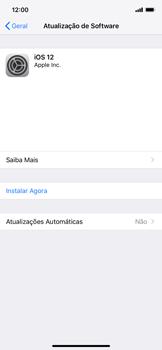 Apple iPhone XR - Funções básicas - Como atualizar o software do seu aparelho - Etapa 6