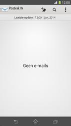 Sony D5503 Xperia Z1 Compact - E-mail - e-mail instellen: IMAP (aanbevolen) - Stap 4