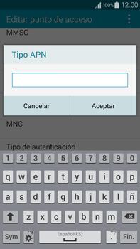 Samsung N910F Galaxy Note 4 - Internet - Configurar Internet - Paso 13