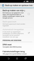 HTC Desire 320 - Device maintenance - Terugkeren naar fabrieksinstellingen - Stap 6
