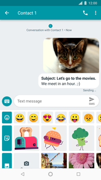 Nokia 8 Sirocco - MMS - Sending pictures - Step 17