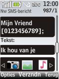 Nokia 2720 fold - MMS - Afbeeldingen verzenden - Stap 8