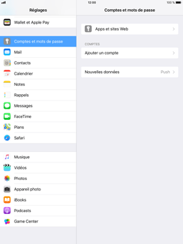 Apple iPad Mini 4 - iOS 11 - E-mail - Configurer l