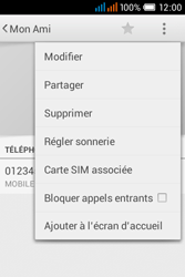 Alcatel OT-4015X Pop C1 - Contact, Appels, SMS/MMS - Ajouter un contact - Étape 9