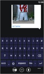 Samsung I8350 Omnia W - MMS - Envoi d