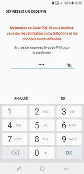 Samsung Galaxy A6 - Sécuriser votre mobile - Activer le code de verrouillage - Étape 10