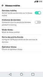 LG X Cam - Réseau - Utilisation à l