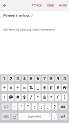 Samsung G903F Galaxy S5 Neo - Email - Sending an email message - Step 10