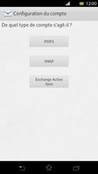 Sony LT30p Xperia T - E-mail - Configuration manuelle - Étape 6