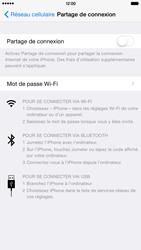 Apple iPhone 6 Plus iOS 8 - Internet et connexion - Partager votre connexion en Wi-Fi - Étape 5