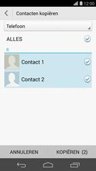 Huawei Ascend P7 4G (Model P7-L10) - Contacten en data - Contacten kopiëren van toestel naar SIM - Stap 9