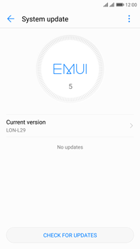 Huawei Mate 9 Pro - Device - Software update - Step 7