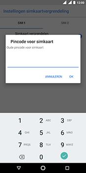Nokia 5.1 - Beveiliging - pas de pincode voor je simkaart aan - Stap 8