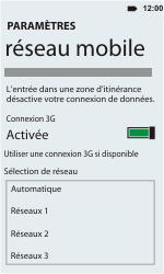 HTC C110e Radar - Réseau - utilisation à l'étranger - Étape 12