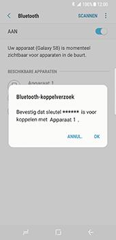 Samsung Galaxy S8 - Bluetooth - koppelen met ander apparaat - Stap 10